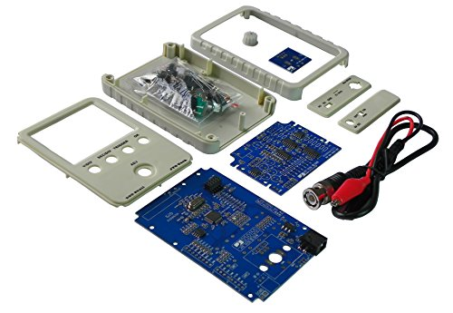 JYETech DSO Shell (15001K) Standard DIY Kit, BNC-clip cable included Oscilloscope (Latest firmware)