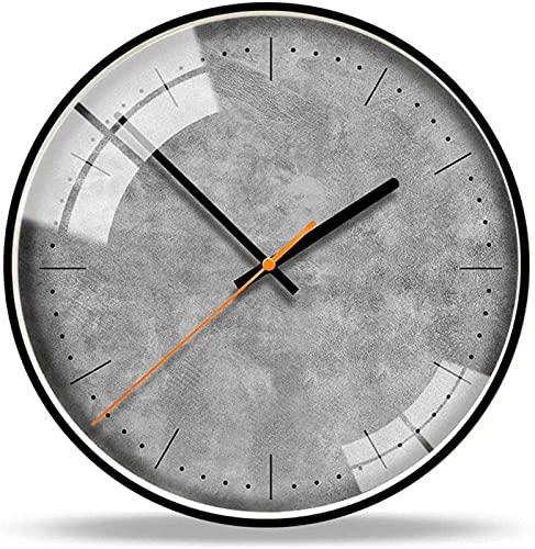AIOJY Reloj De Pared 14 Pulgadas Figura Geométrica Moda Reloj De Pared Northernopa Contractualmente Horológicamente Moderno Sala De Estar