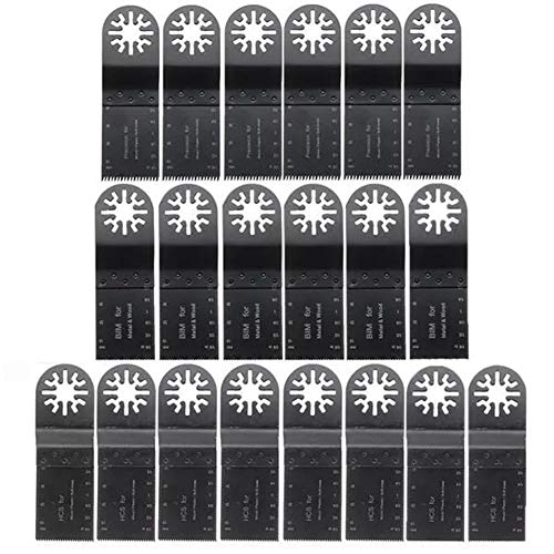 Learn More About Oscillating Tools 20pcs Oscillating Multitool Saw Blade Accessories 35mm Mix Blades...