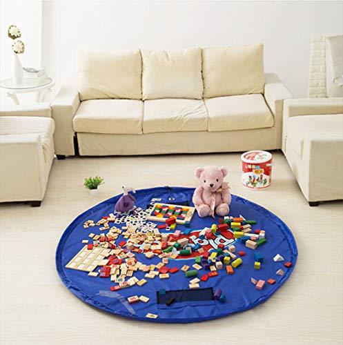 CAMPERS Aufbewahrung für Kinder Spielzeug Aufbewahrungstasche Speicher Tasche Aufräumsack, Picknick Strand Teppich 60 inch