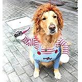 TVMALL Tödliche Puppe Hundekostüm Weihnachtsfeier Hundebekleidung & Zubehör Halloween...