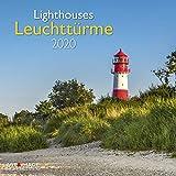 Leuchttürme 2020 A&I - Broschürenkalender - 30x30cm - Wandkalender