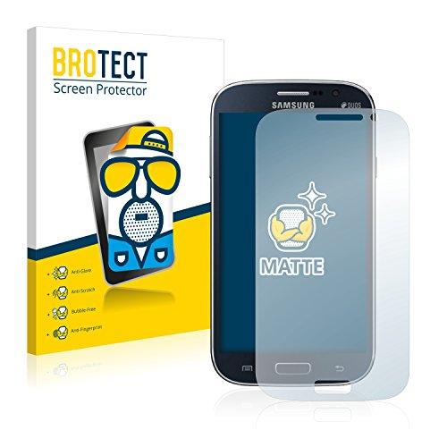 BROTECT 2X Entspiegelungs-Schutzfolie kompatibel mit Samsung Galaxy Grand Neo Plus Bildschirmschutz-Folie Matt, Anti-Reflex, Anti-Fingerprint