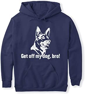 get Off My Dog bro Sweatshirt - Gildan 8oz Heavy Blend Hoodie