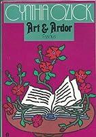 Art and Ardor 0394530829 Book Cover
