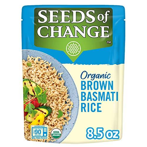 SEEDS OF CHANGE Bio-Basmati-Reis, braun, 240 ml (6 Stück)