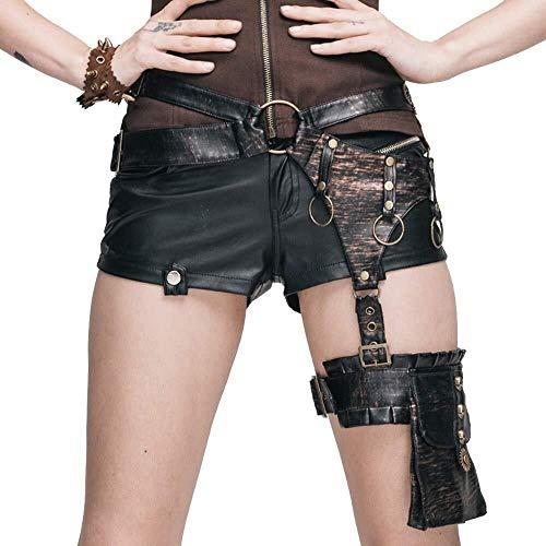 LXDDJXL Körper-Kette Körperkette Lady Rock-Art-Taillen-Bein-Tasche Steampunk Cosplay Rucksack-Schule-Mädchen-Handtaschen-Kurier-Kostüme Büstenhalter Ketten