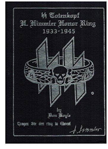 SS TOTENKOPF - H. HIMMLER HONOR RING 1933-1945