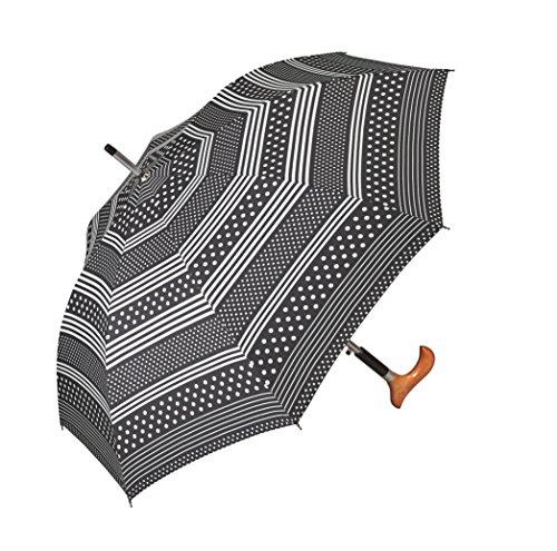 Happy Rain Stützschirm Fritzgriff Polka Dots