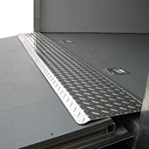 hinged ramp transition flap