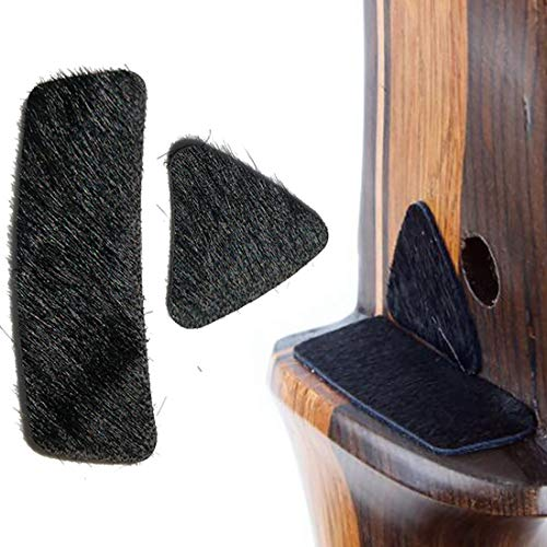HRCHCG Archery Arrow Rest Stick Fur Stick on Bow Riser for Recurve Bow American Hunting Shooting Target Accessory Tradition Longbow Bow