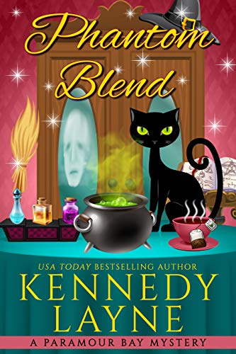 Phantom Blend (A Paramour Bay Cozy Paranormal Mystery Book 12) by [Kennedy Layne]