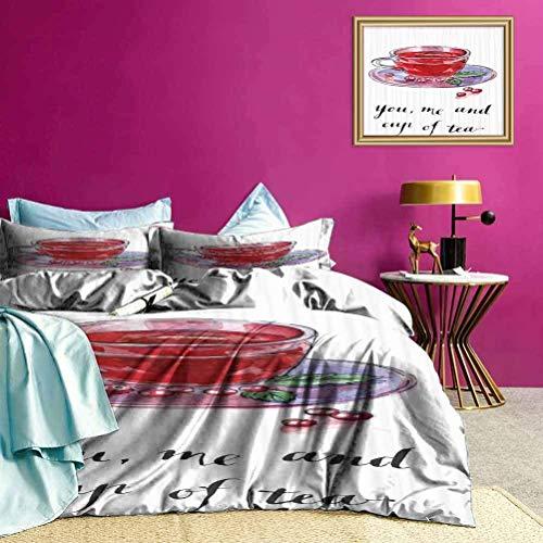 Copriletti Copriletto You Me e Copripiumino per tazza di tè rendono il tuo letto divertente e confortevole