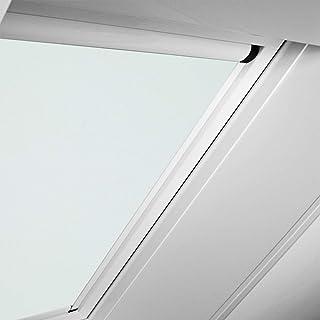 WDF KAW KEW Rollo Rollos Roto Original Verdunkelungsrollo ZRVM für 617 Fenstergröße 5/11 in der Stofffarbe 3-V61/Matrix-türkis