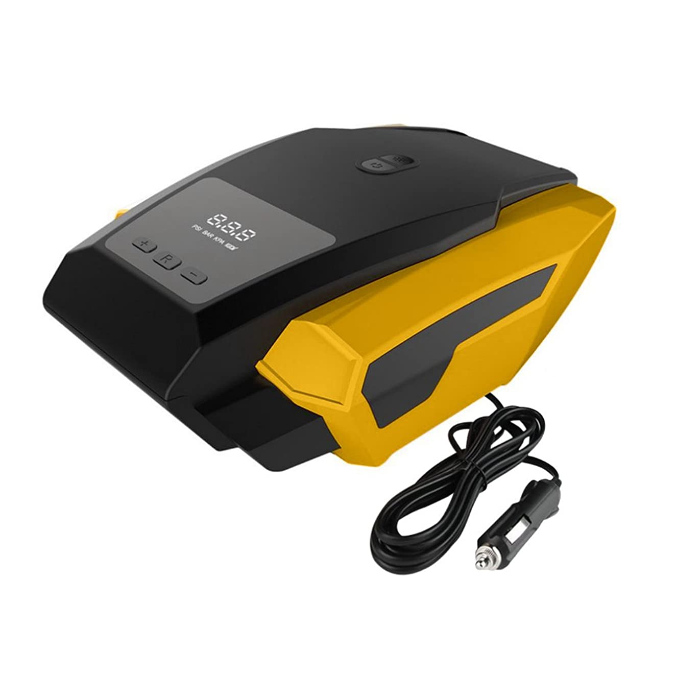 メンタル商標ドックSemoic 車LEDデジタルディスプレイ空気コンプレッサー携帯可能インフレータブルポンプ12V 自動車タイヤ高速インフレータミニ電気自動車用旅行ボート空気コンプレッサー工具