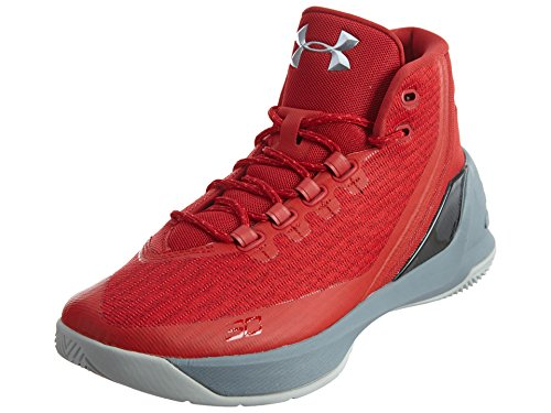 Under Armour Curry 3 Basketball Shoes - 8 - Red