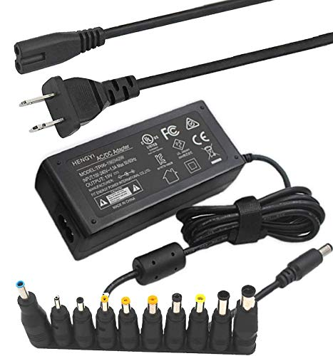 UL Listed 19V 3.42A Power Supply AC Adapter 19 Volt 65W Laptop Charger for Toshiba IBM Acer Lenovo Asus Fujitsu Sony Gateway Chromebook Notebook, Samsung LG TV Monitor.
