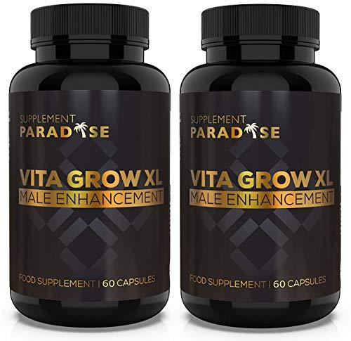 VITA Grow XL Male Enhancement (120 Capsules) Increase Stamina & Endurance VITAGROWXL SUPPLEMENT PARADISE
