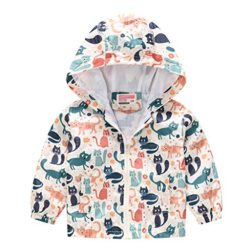 Toddler hoodie Kids Kids Infant Outerwear Baby jacket Girls Boys jacket Full Zip Hooded Windproof Coat