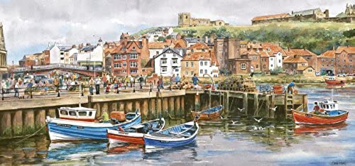 Gibsons Whitby Harbour 636 Piece Puzzle by Gibson