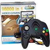 Techgifti™ 98000 in 1 Video Game Pad Direct AV Inputs Single Player Games