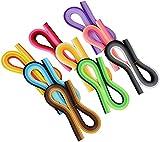 Meet-shop Strisce di Carta per Quilling,Paper Quilling Set 900 Pezzi Carta Quilling Strisce di Filigrana Arte per Fai-da-Te Creazioni Artigianali 44 Colori 5mm Larghezza 39cm Lunghezza