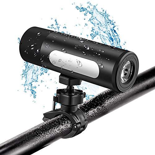 AKAKKSKY Altavoces Bluetooth portátiles Sonido Estéreo Premium Múltiples Funciones Luces de Bicicleta...
