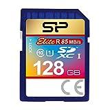 Silicon Power 128GB SDXC R85MB/s C10 UHS-1 Elite Memory Card (SP128GBSDXAU1V10)