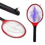 Wagtail – Raqueta Mosquitos eléctrica Recargable, Exterminador eléctrico de Insectos, matamoscas y matamosquitos.