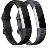 HUMENN Bracelet pour Fitbit Alta/Fitbit Alta HR/Fitbit Alta Ace, Bande de Remplacment TPU Réglable Accessoire for...