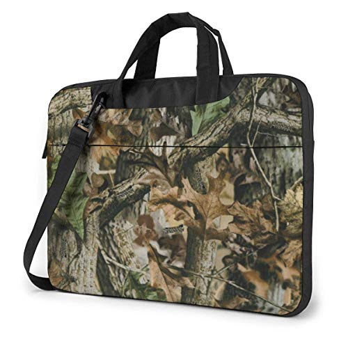 Free Realtree Camo Laptop Shoulder Messenger Bag, Laptop Sleeve Case with Strap 15.6 Inch