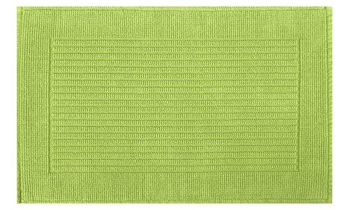 Spirella MILU LIME 50x80 cm badmat / -mat, katoen, 80 x 50 cm