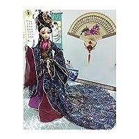 30センチメートル人形中国の人形オリエンタル装飾人形テーブル、マントル装飾品、装飾品や装飾品オフィスの棚、クリスマスギフト,6