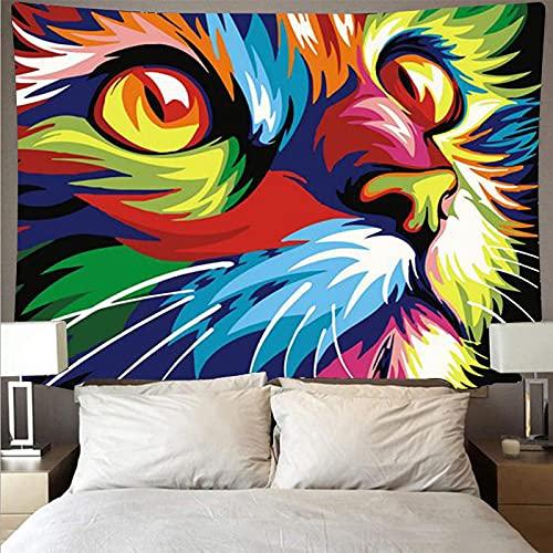 Tapiz De Pared,Tapices De Pared,Mural Tapestry Impresión 3D Animales Pintados(95X73Cm) Decoración Del Hogar De La Pared Del Dormitorio De La Sala De Estar