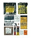 REAL FIELD MEAL Ración diaria, MRE, EPA, Campo de Drytech., multicolor