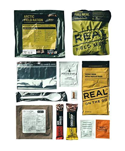 REAL FIELD MEAL Tagesration, MRE, EPA, Feldration von Drytech (Hähnchen Curry)