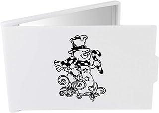 'Christmas Snowman' Compact / Travel / Pocket Makeup Mirror (CM00024293)