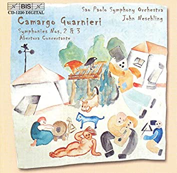 Guarnieri: Symphonies Nos. 2 and 3 / Abertura Concertante