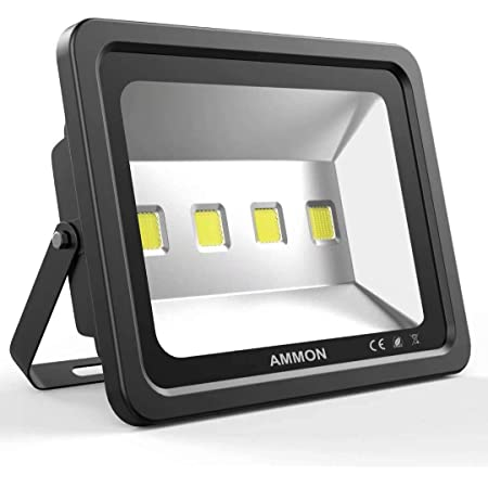 5X 50W LED Floodlight Security Flood Light Outdoor Cool White Wall Lamps IP65 UK