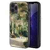 Carl Blechen Paral iPhone 12 Pro MAX/Caja del teléfono Celular de Arte/Impresión Giclee UV en la Cub...