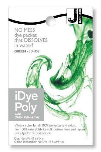 Jacquard iDye Poly - Stoff Farbstoff für Polyester und Nylon (Verschiedenen Farben Erhältlich) - Grün