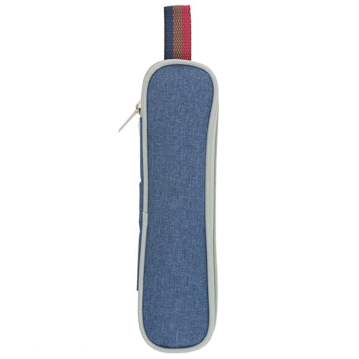 スペシャリストドキドキ良性黒の食器セット7個/セットステンレス製食器、金属製ストローハンドルナイフフォークスプーンディナーセット、1個の青いバッグ
