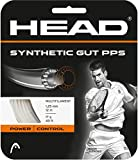 HEAD Synthetic Gut PPS Multifilament Tennis Racket String Set - White, 16 Gauge Racquet String