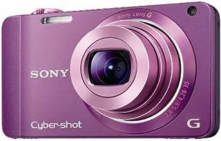 Sony DSC WX10V Digitalkamera (16 Megapixel, 7 fach opt. Zoom, 3D Schwenkpanorama, 10 Bilder/Sek., 7,1 cm (2,8 Zoll) Display) violett