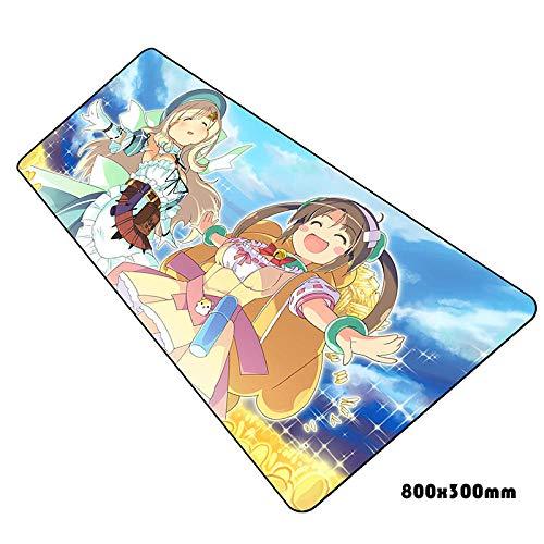 IGZNB Senran Kagura Mauspad Hd Muster Notbook Computer Gaming Gamer Laptop 80X30Cm Mauspads Farbe B