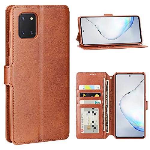 DDJ Samsung Galaxy Note 10 lite Case, Galaxy Note 10 lite Leather Wallet Case