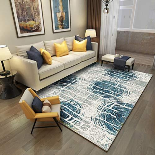 Vloerkleed en onderlegtapijt, modern, minimalistisch, voor slaapkamer, woonkamer, nachtkastje, badmat, antislipmat (80 x 160 cm/120 x 160 cm/140 x 200 cm) 80*160cm J