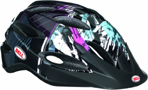 Bell Kinder Fahrradhelm Octane, Purple/Teal/Black Swan, 50-57