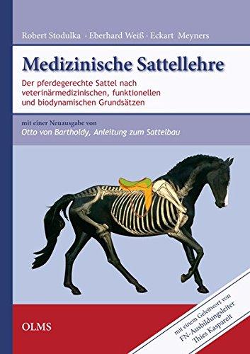 Medizinische Sattellehre: Sattelanpassung nach veterinärmedizinischen, funktionellen sowie biomechanischen Grundsätzen. Mit einem Geleitwort von ... 2011. Verl. R. Schnürpel, Berlin, 1938.