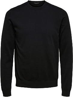 Selected Men's Slhberg Crew Neck B Noos Sweatshirt